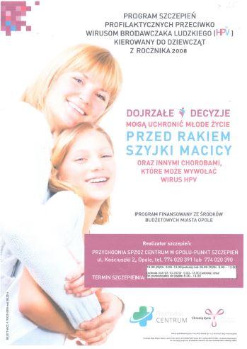 szczepienie hpv
